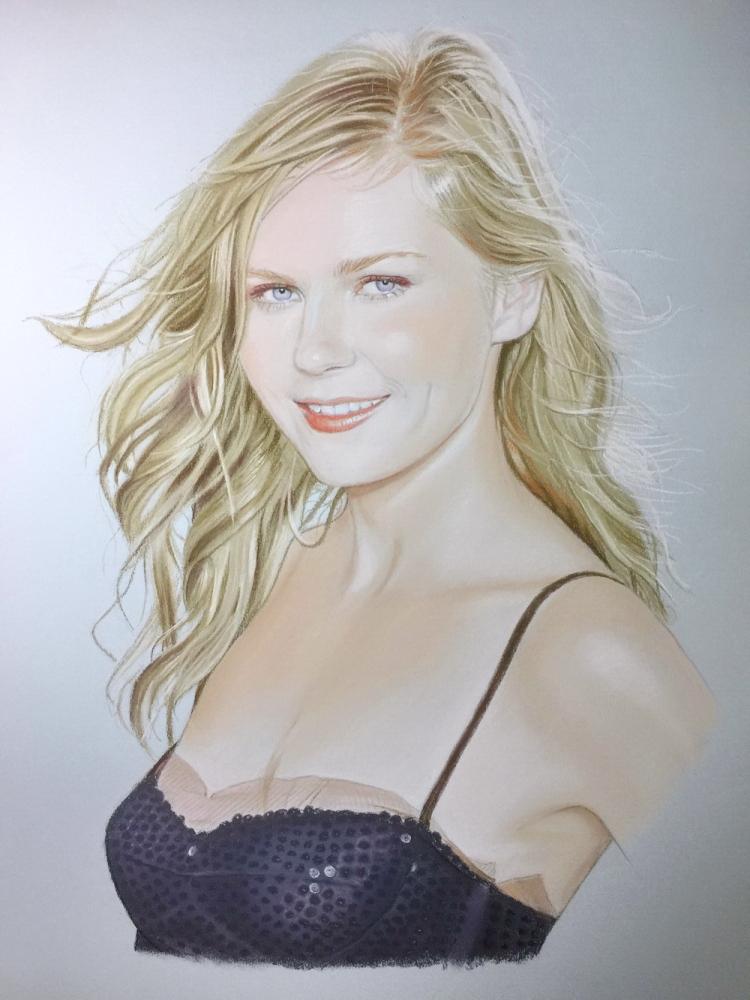 Kirsten Dunst por JavierNoda